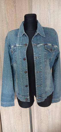 Dżinsowa bluza damska.