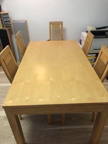 Stół + 6 krzeseł Klose