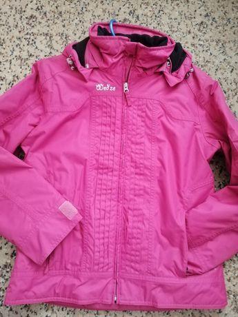 Куртка тёплая светло-вишневая
