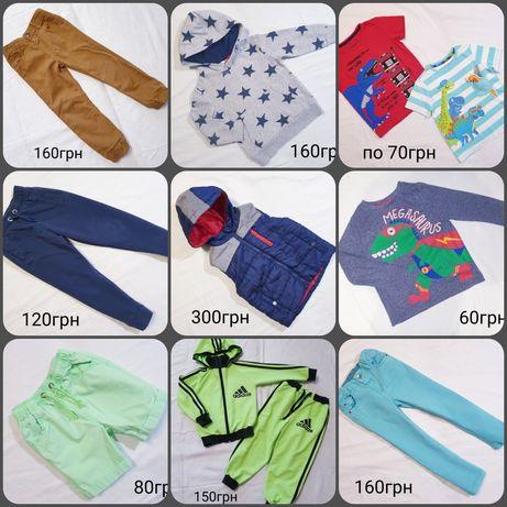 Вещи одежда на мальчика 3-4 года на рост 98-104