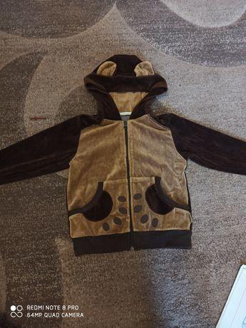 Спортивний вільветовий костюм велюр робінзон  104