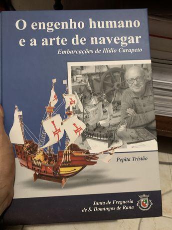 Livro o engenho humano e a arte de navegar