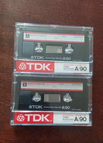 Новые аудиокассеты TDK A/90