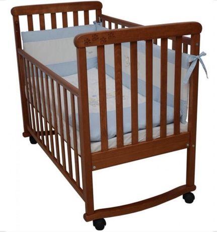 Дитяче ліжечко ліжко детская кровать Верес Соня ЛД12 с резьбой лапки