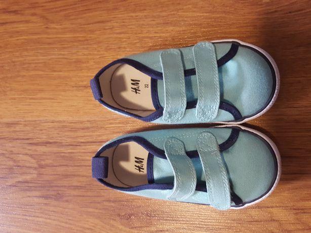 Buty/tenisówki na rzepy H&M 22