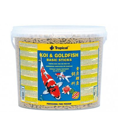 Tropical KOI & GOLDFISH Basic Sticks 5L- 450g
