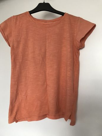 Koralowa koszulka Sinsay Basic