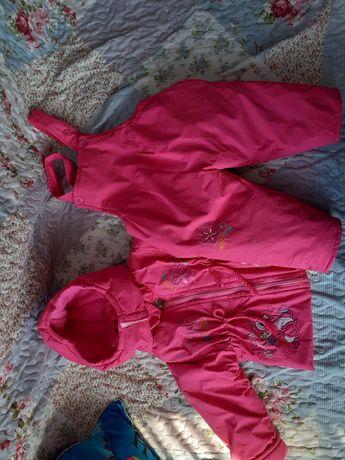 Комбинезон и куртка на осень и весну