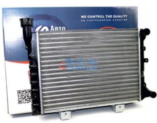 Радиатор охлаждения ВАЗ 2104, 2105, 2107 (алюминиевый)