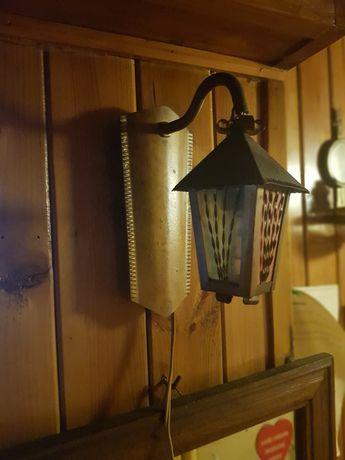 Stara wiszaca lampa