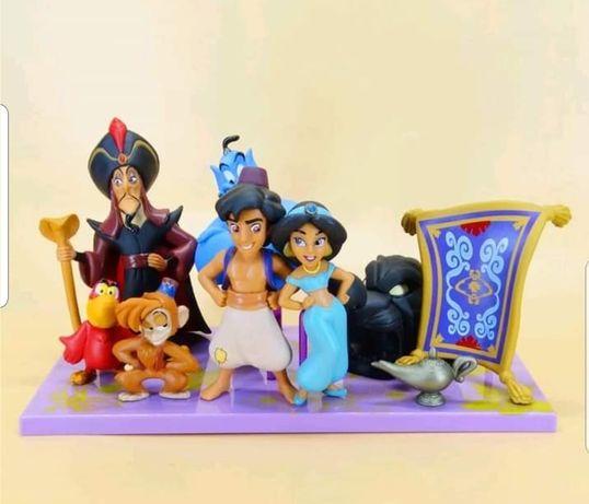 9 pcs /Aladdin e Jasmine (Portes Incluidos)