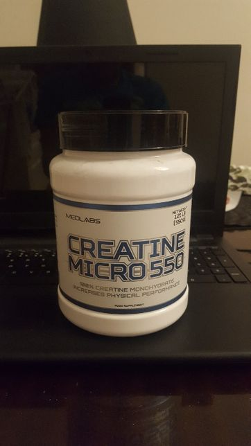 Medlabs Creatine Micro 550 - kreatyna monohydrat