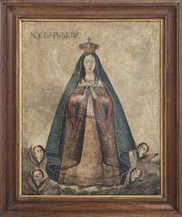 Óleo Sobre Tela Nossa Senhora da Peneda