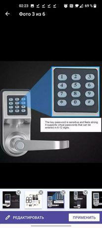 Умный электронный дверной замок с кодом, механический замок с цифровой