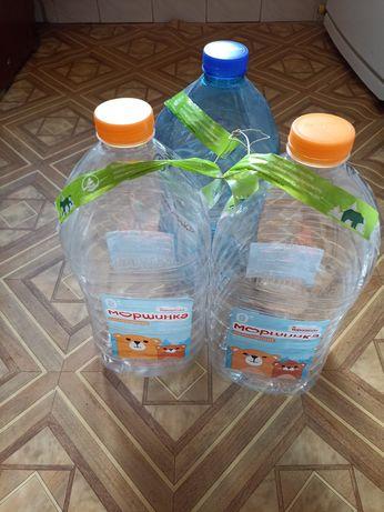Баклашки 6л и 5л пластиковые