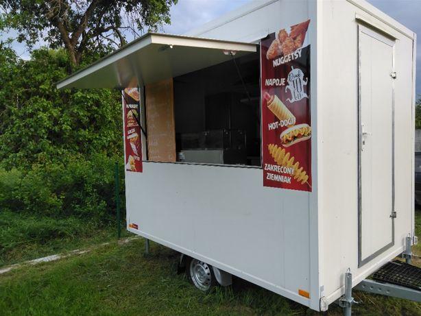 Przyczepa gastronomiczna fast food/nowa 2019r/wyposażona/food truck