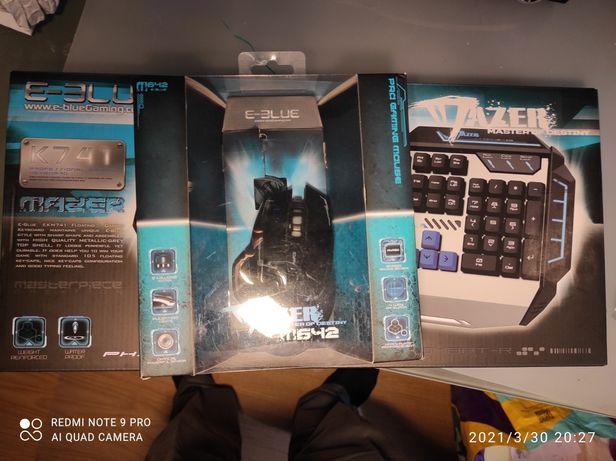 Teclado + Rato usado para jogos