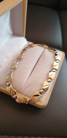 Złota bransoletka pr.585 Nowa!!!