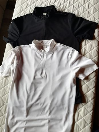 T-shirty koszulki na rower Oxylane