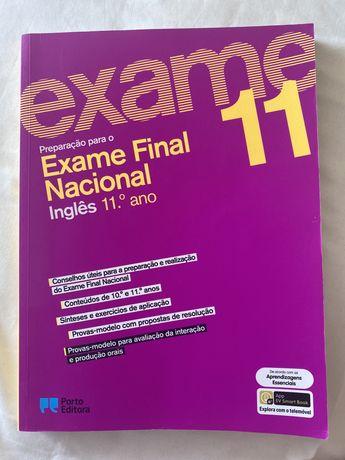 Livro de preparação para o exame de inglês 11.ºano