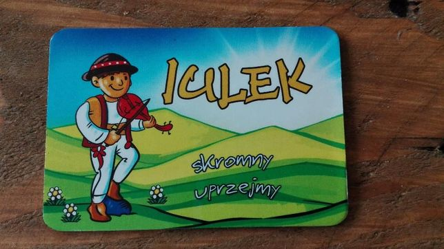 Magnes na lodówkę - JULEK