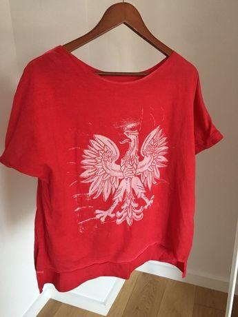Bluzka z orzełkiem Polska czerwona