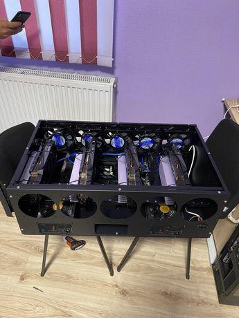 Ферма на 4 карти Geforce RTX 3090 Gigabyte Gaming OC 24gb