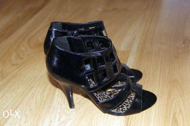 eleganckie sandały-buty-szpilki 38 -nowe