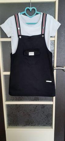 Комбинезон костюм юбка+футболка