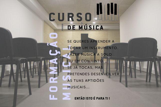 Aulas de Música Individuais (Todos os Instrumentos)