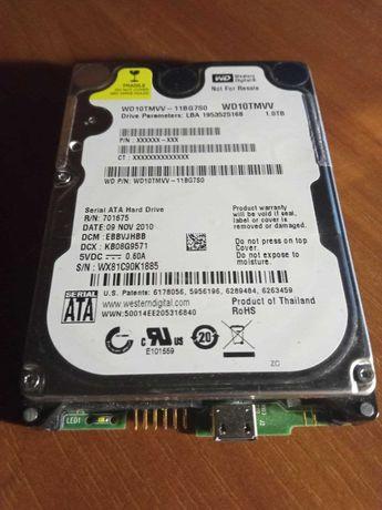 Жёсткий диск 1.0TB (USB,HDD) . WD10TMVV. Полностью рабочий. Без торга