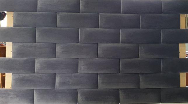 Panele ścienne tapicerowane cegiełka wnęki sypialnie na wymiar 11/32