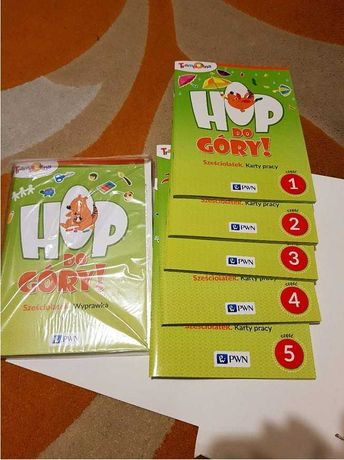 Hop, do góry! Sześciolatek 6lat Pakiet Trampolina