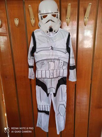 Маскарадный костюм наряд штурмовика Звёздные войны 5-6 лет Star wars