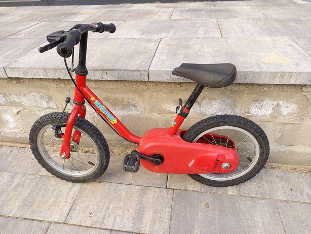 Rower dziecięcy Decathlon 14 cali rowerek dla dzieci