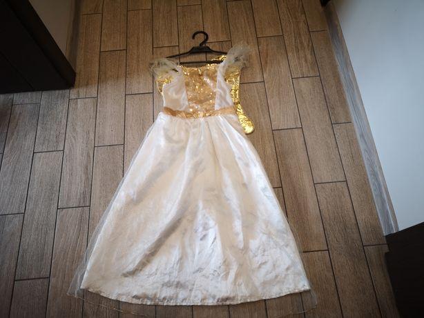 Sukienka anioła anioł jasełka roz.5-7 lst