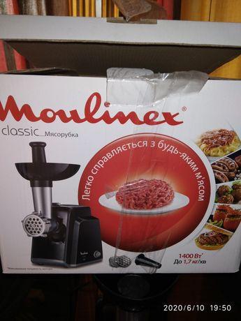 Новая мясорубка Moulinex