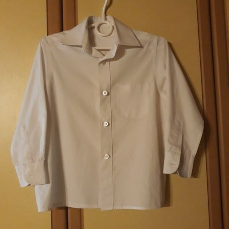 Biała koszula 104 cm na 4 lata dla chłopca