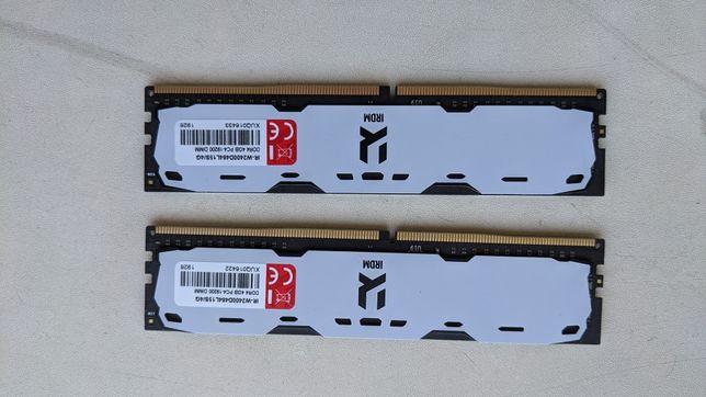 Оперативна пам'ять Goodram DDR4-2400 4096MB PC4-19200 IRDM White