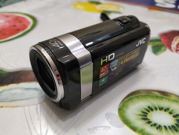 Kamera cyfrowa Full HD JVC GZ-HM445BE + karty pamięci.