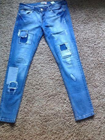 spodnie jeansowe - roz. L