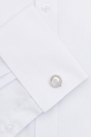 Рубашка мужская белая MOSS Esq р.16 UK ворот 42,на запонках,оригинал