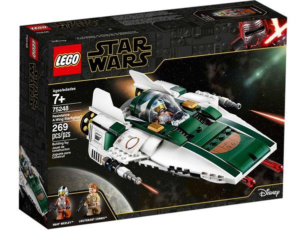 Lego novos  Star Wars 75248, 75266, 75254  Marvel 76140  Ninjago 71708