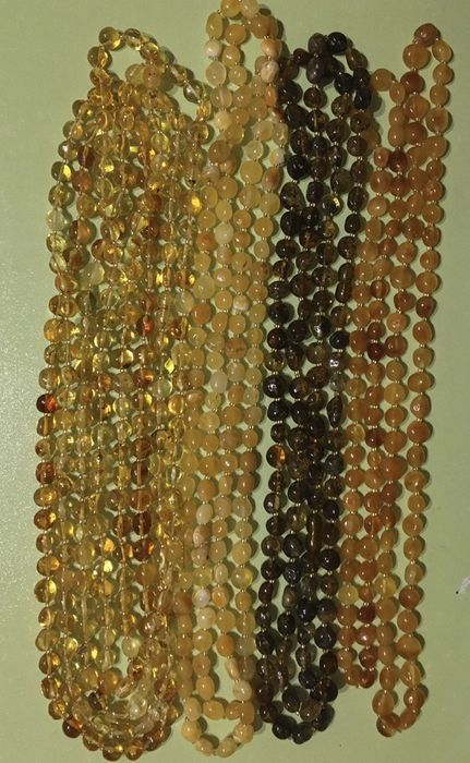 Бусы из янтаря Бурштин Янтарные бусы Михайловка - изображение 1
