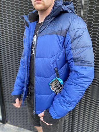 Зимняя мужская куртка Columbia синяя