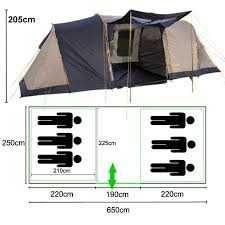 Палатка Campus Montpellir 6 (на 6 человек)