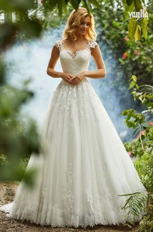 Suknia ślubna Vanilla Sposa model 1837 rozmiar M