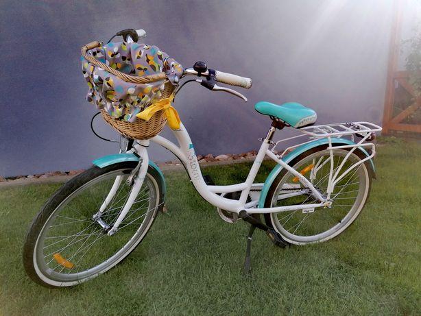 """Rower Storm Daisy 24"""" miejski mięta"""