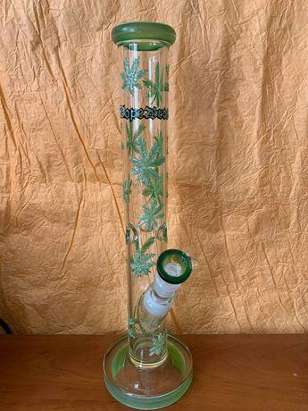 Бонг 40 см из боросиликатного стекла