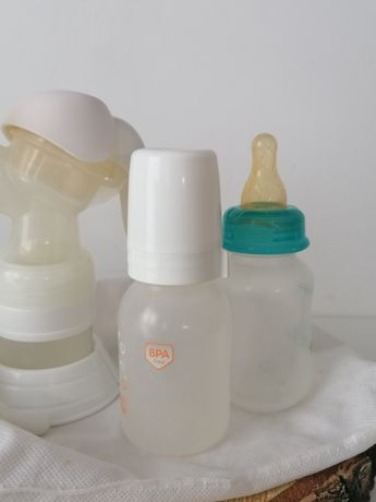 Laktator ręczny najlepszy szybki odciągania mleka gratis canpol babies